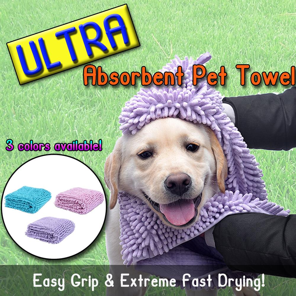 Ultra Absorbent Pet Towel