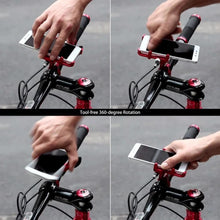 Load image into Gallery viewer, Aluminum Alloy Bike Phone Holder