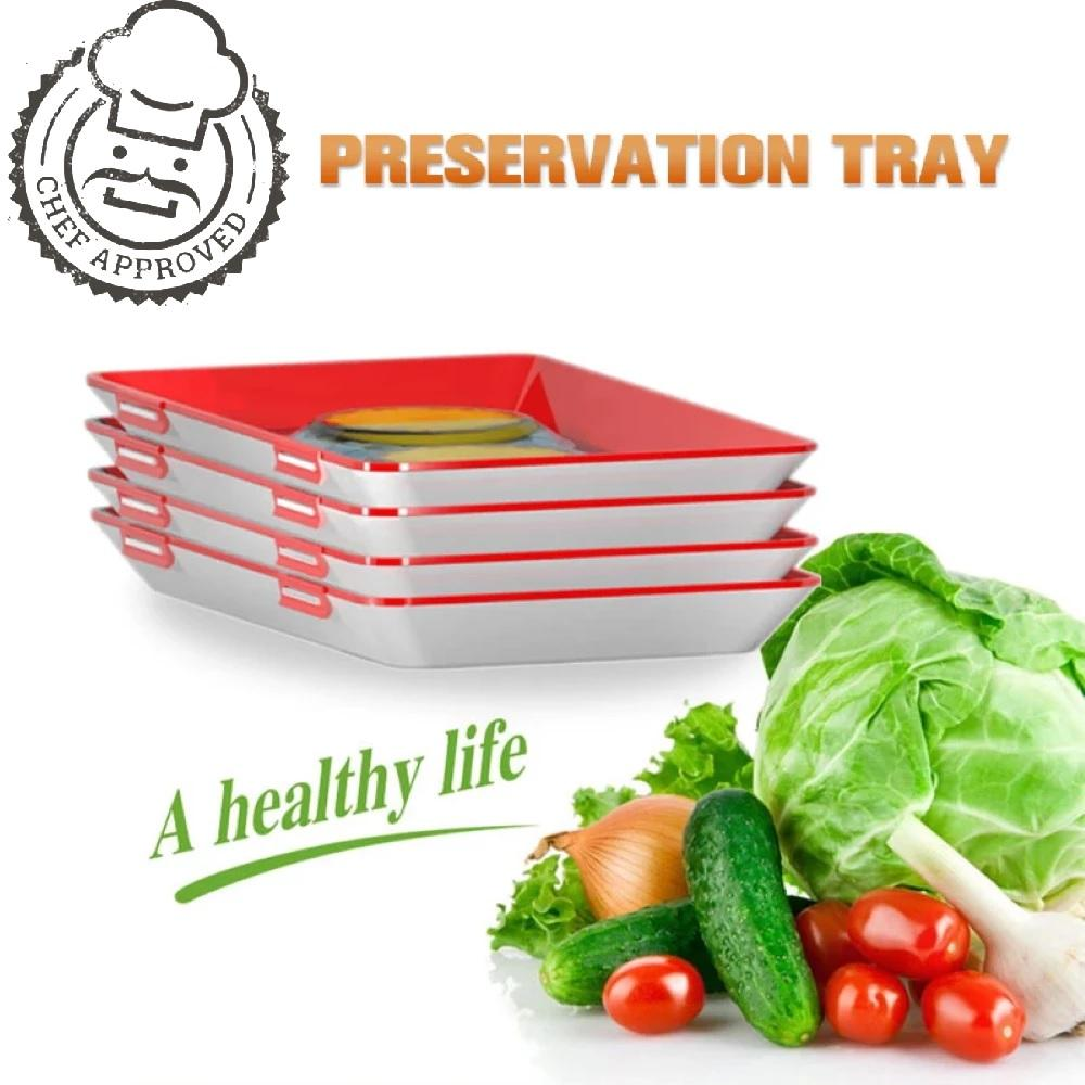 Creative Food Preservation Tray--Buy More Save More!!