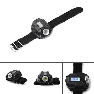 New Portable XPE Q5 R2 LED USB Charging  Wrist Watch