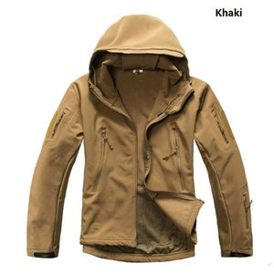 Tactical Military Water Resistant Sharkskin Jacket