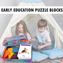 Load image into Gallery viewer, Shape Puzzle Educational Toy Kit