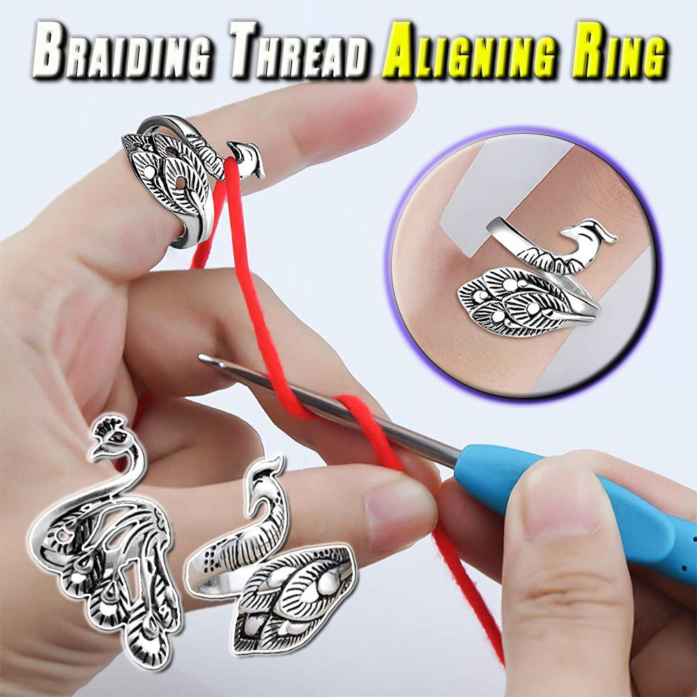 Braiding Thread Aligning Ring