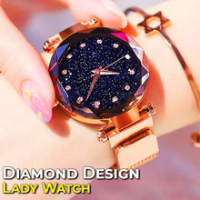Load image into Gallery viewer, Diamond Design Lady Watch