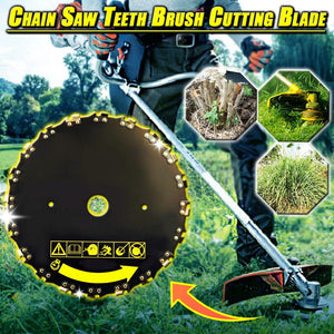 Chainsaw Teeth Brush Cutting Plate
