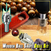 Load image into Gallery viewer, Wooden Ball Shape Drill Bit