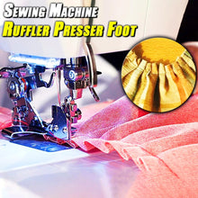 Load image into Gallery viewer, Sewing Machine Ruffler Presser Foot