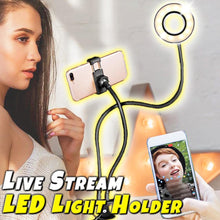 Load image into Gallery viewer, Live Stream LED Light Holder