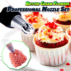 Butter Cream Flowers Professional Nozzle (3pcs Set)