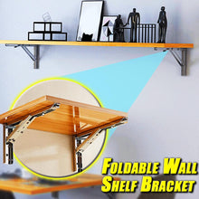 Load image into Gallery viewer, Foldable Wall Shelf Bracket