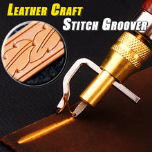 Load image into Gallery viewer, Leather Craft Stitch Groover