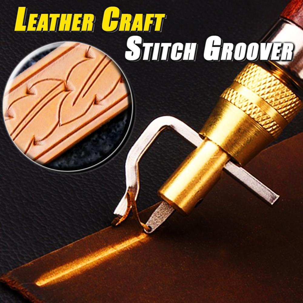 Leather Craft Stitch Groover
