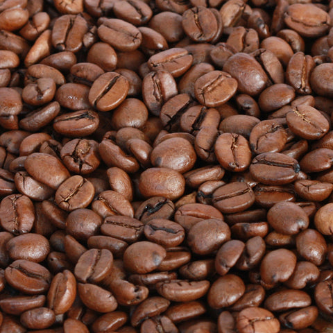 1 kilo black bag of Coffee Care's Brazil Santos Coffee Beans. Freshly roasted Brazilian Coffee