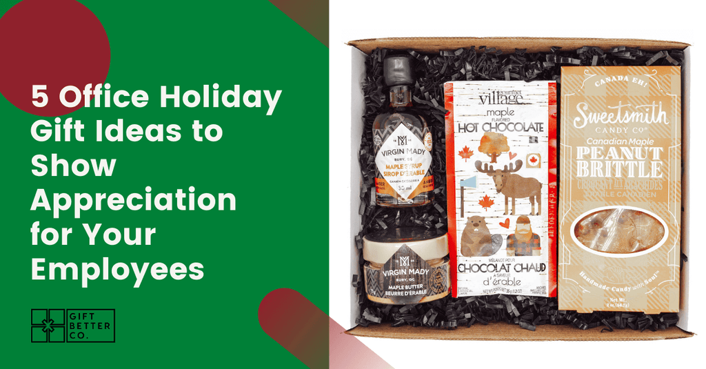 5 Office Holiday Gift Ideas to Show Employee Appreciation