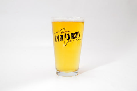 Upper Peninsula Pint Glass Set- 4 pack