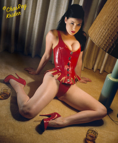 Dita Von Teese, Red Robin Hood Latex