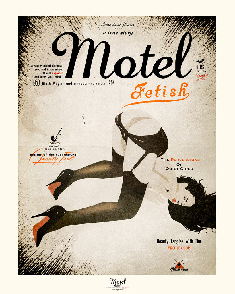 Motel Fetish poster from Paris