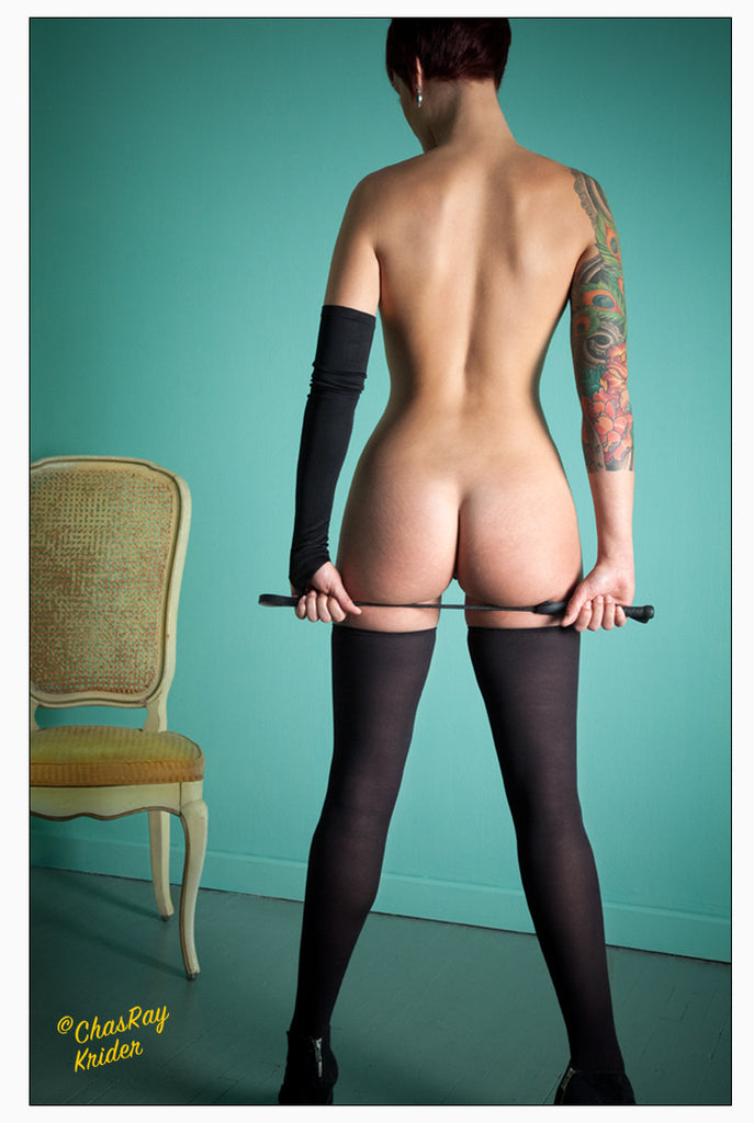 Woman with Riding Crop