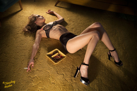 Woman on Carpet