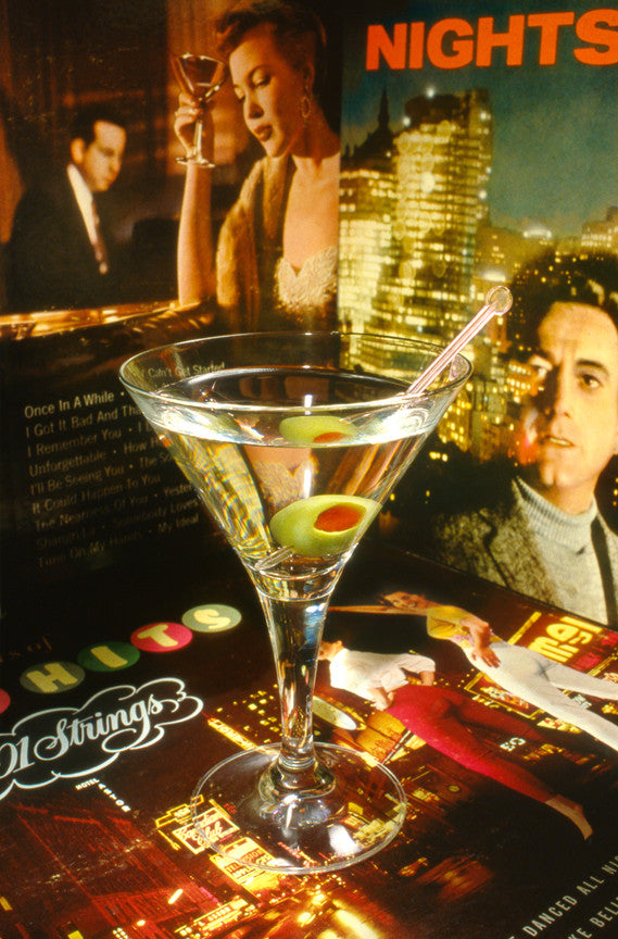 Bachelor Pad Pop Art: Martinis and Memories
