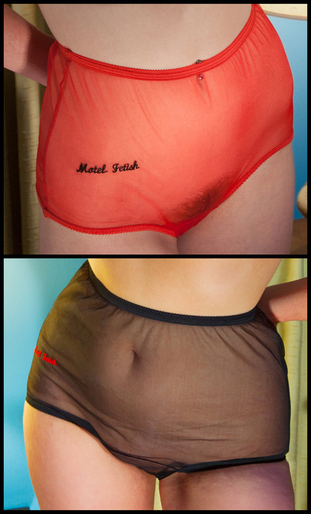 Motel Fetish Embroidered Panty