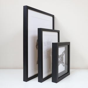 A4 Slim Box Frame (Mat Border)