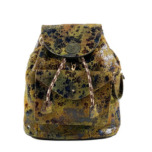 Backpack Carnaza Verde frente