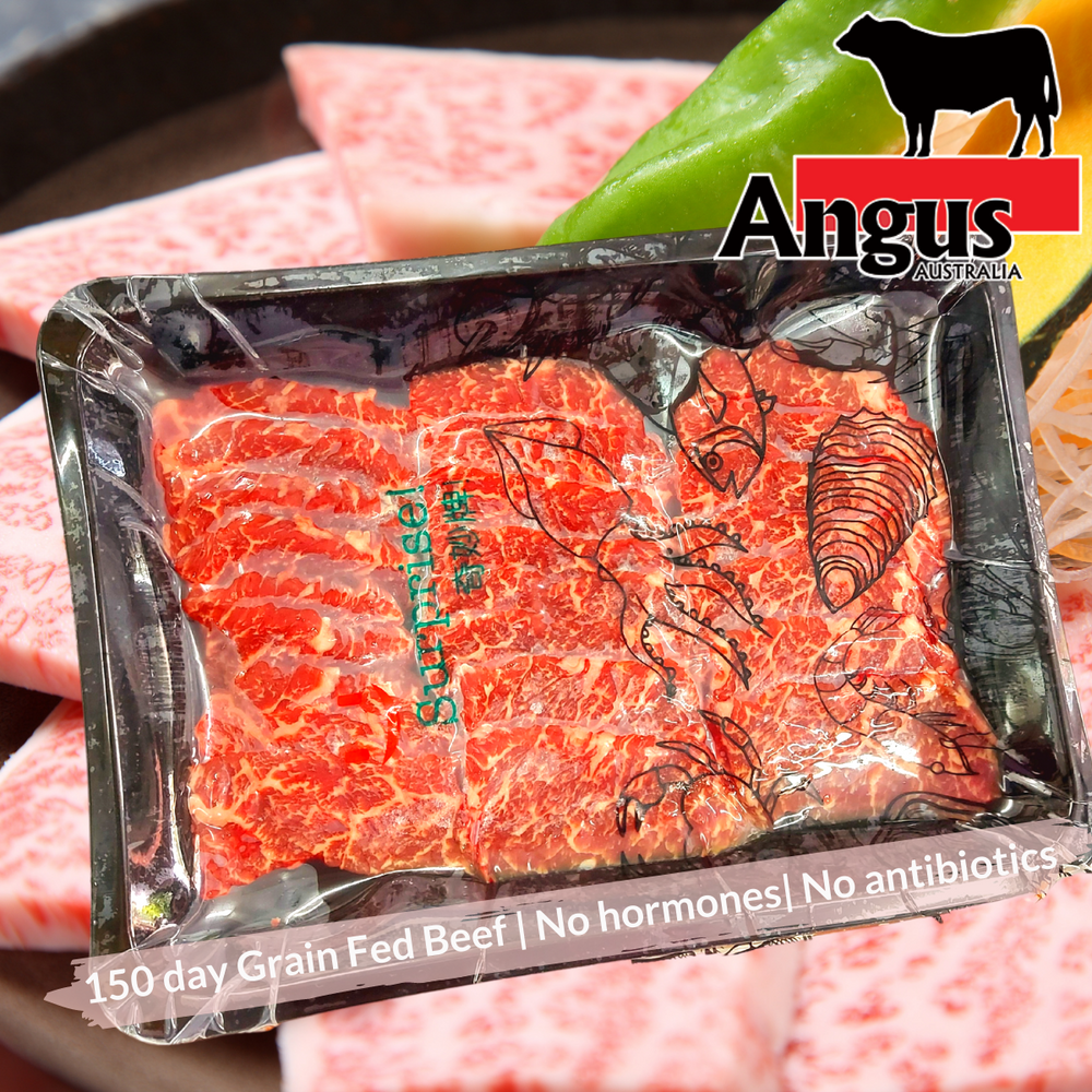 Australian Black Angus Beef Skirt Slice 5mm (300-350g)