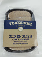 UK Yorkshire Cuisine Old English Sausage (6 pcs)