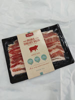 Spanish No Hormones No Antibiotics Unsmoked Streaky Bacon (200g)