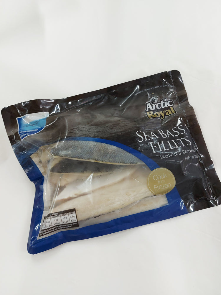 UK Arctic Royal Sea Bass Fillet (600g)