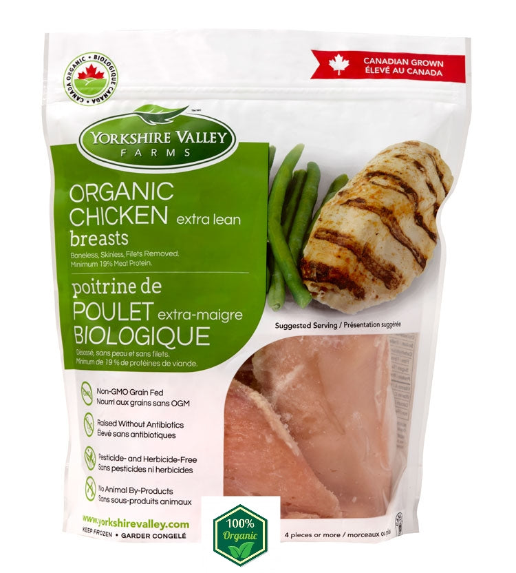 Canadian Yorkshire Valley Farms Organic Chicken Breast (700g)