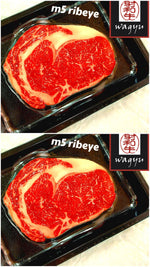 Australian Wagyu Beef Rib Eye Steaks M5 (2 packs)