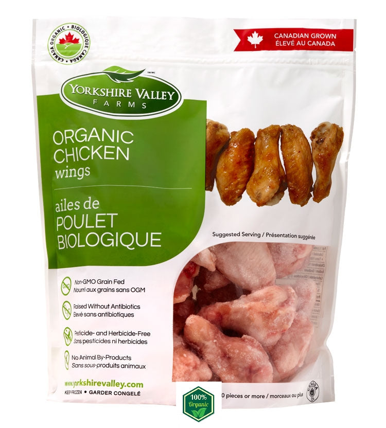 Canadian Yorkshire Valley Farms Organic Chicken Wing (700g)