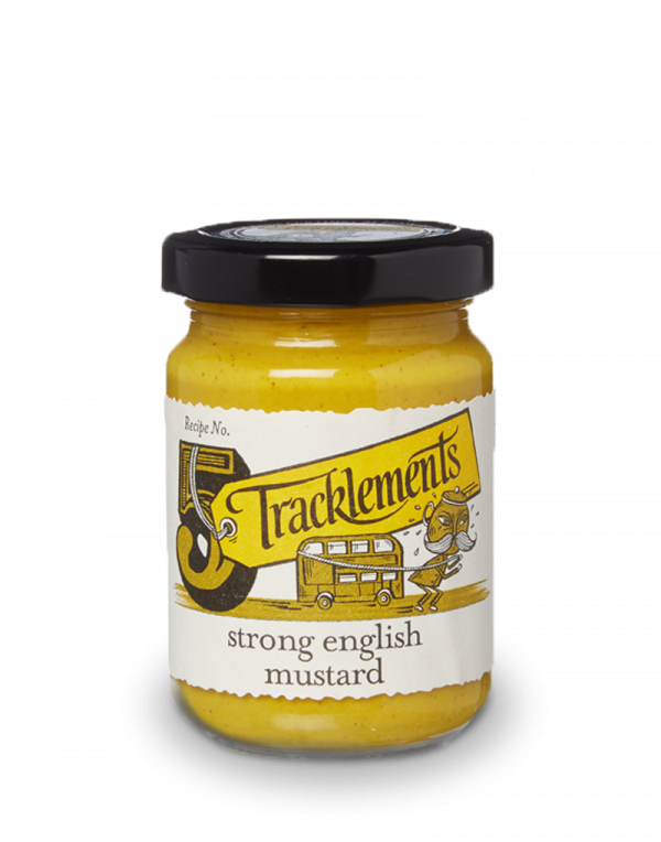 UK Tracklements Strong English Mustard (140g)
