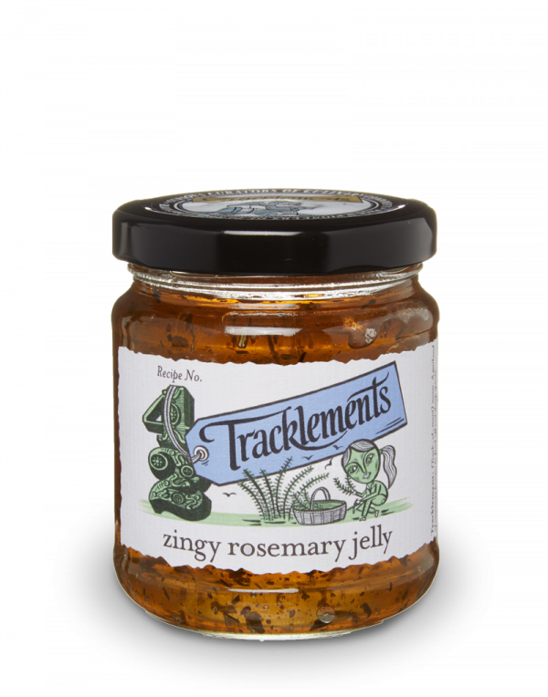 UK Tracklements Zingy Rosemary Jelly (250g)