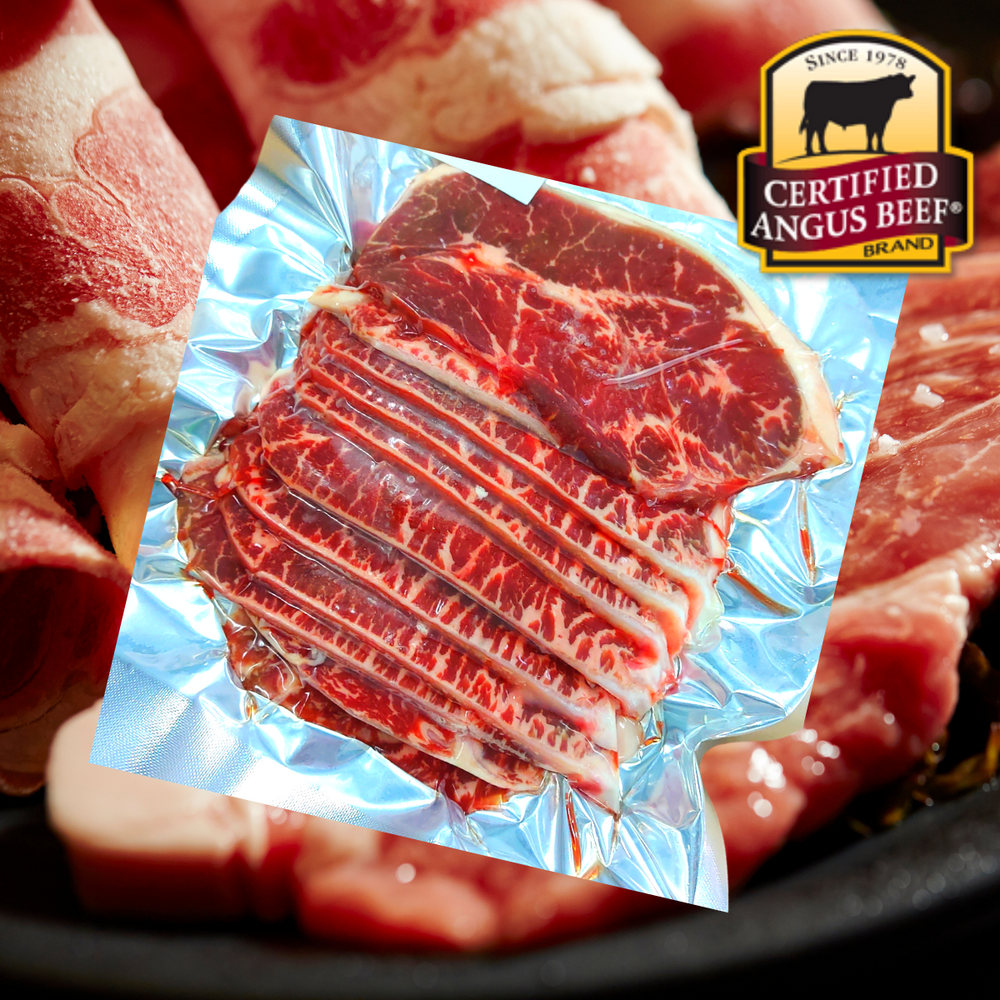 USA Angus Beef Top Blade Slices Korean BBQ 5mm (300g)