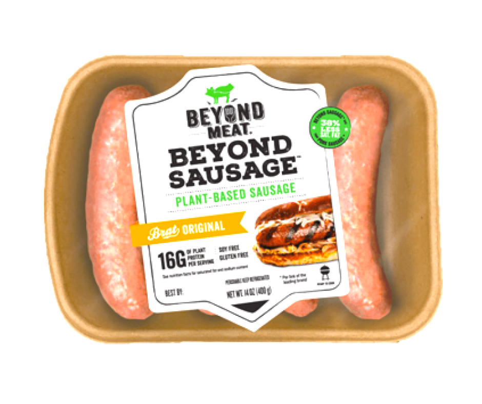 US Beyond Jumbo Sausage Vegan (4 pcs)