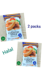 Malaysian Country Style Jumbo Chicken Sausages (6 pcs x2)