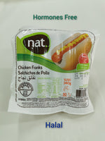 Brazilian Nat Chicken Franks (10 pcs)