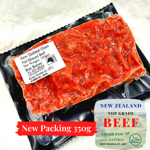 New Zealand Grass Fed 95% Lean Minced Beef (350g)