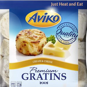 Netherland Gluten Free Creamy Gratins Cheese & Cream (4 pcs, 100g/pc)