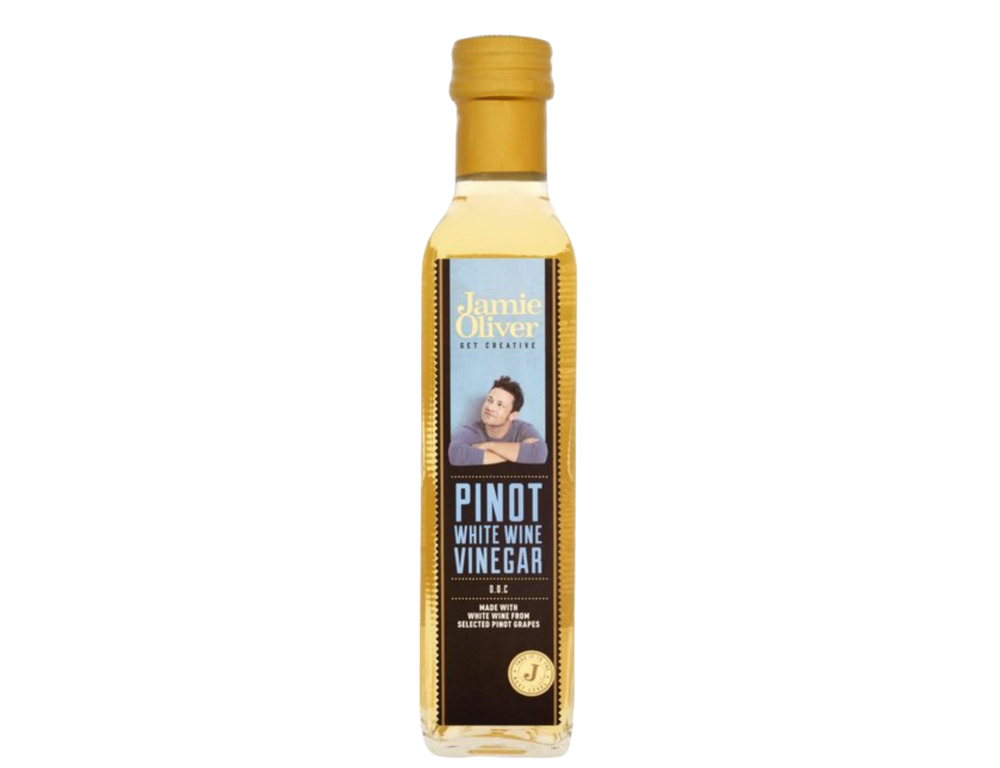 Italian Jamie Oliver Pinot White Wine Vinegar (250 ml)
