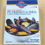 Canadian Wild Blue mussels in Shell (454g)