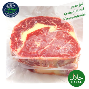New Zealand Top Grade Grass Fed Beef Rib Eye Steaks (2pcs)