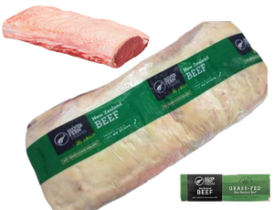 New Zealand Silver Fern Farms Top Grade Grass Fed Beef Striploin Whole