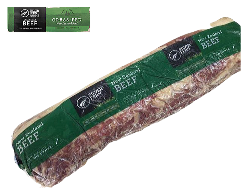 New Zealand Silver Fern Farms Top Grade Grass Fed Beef Rib Eye Whole