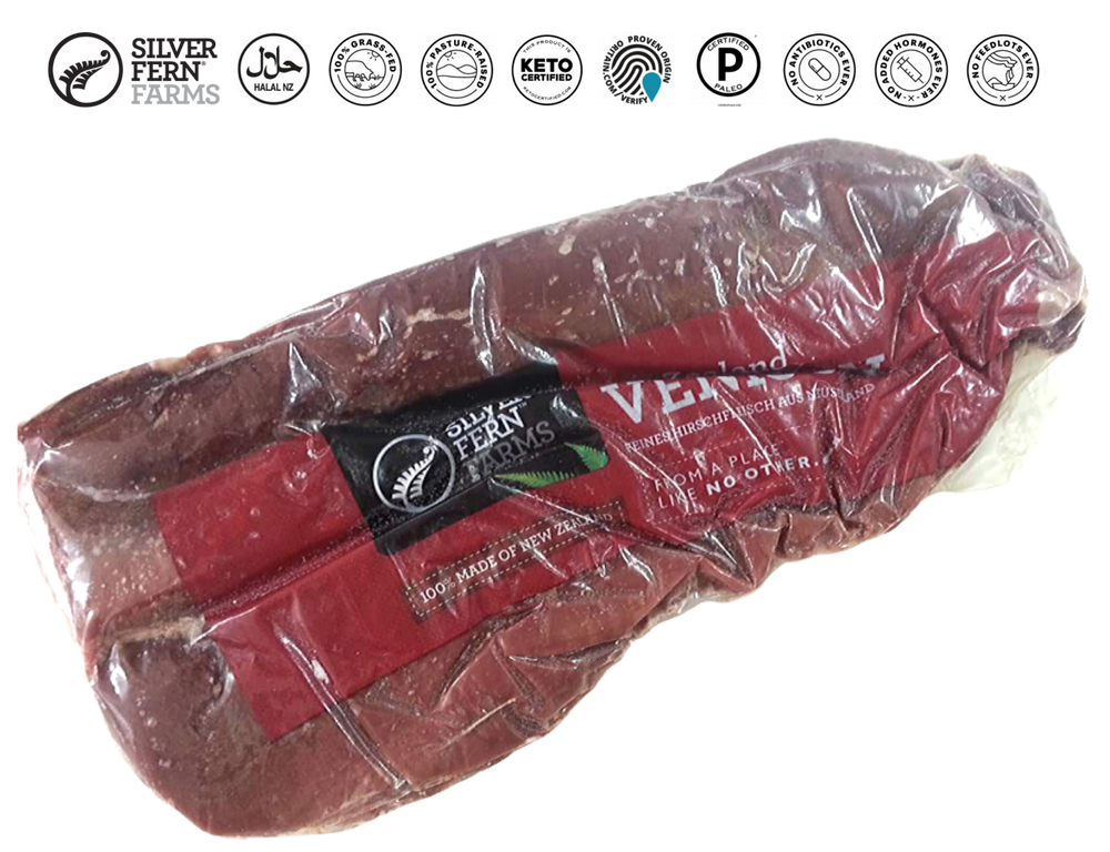 New Zealand Silver Fern Farms Venison Tenderloin