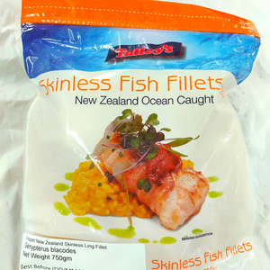 New Zealand Talley's Wild Ling Fish Fillets (750g)