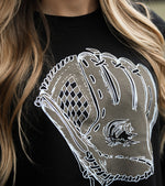 Baseball Glove Crop Tee